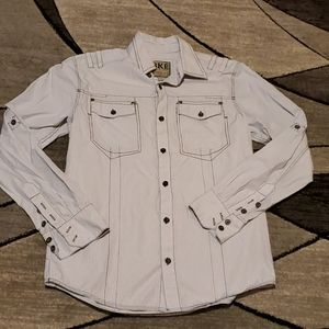 BKE Athletic fit button shirt